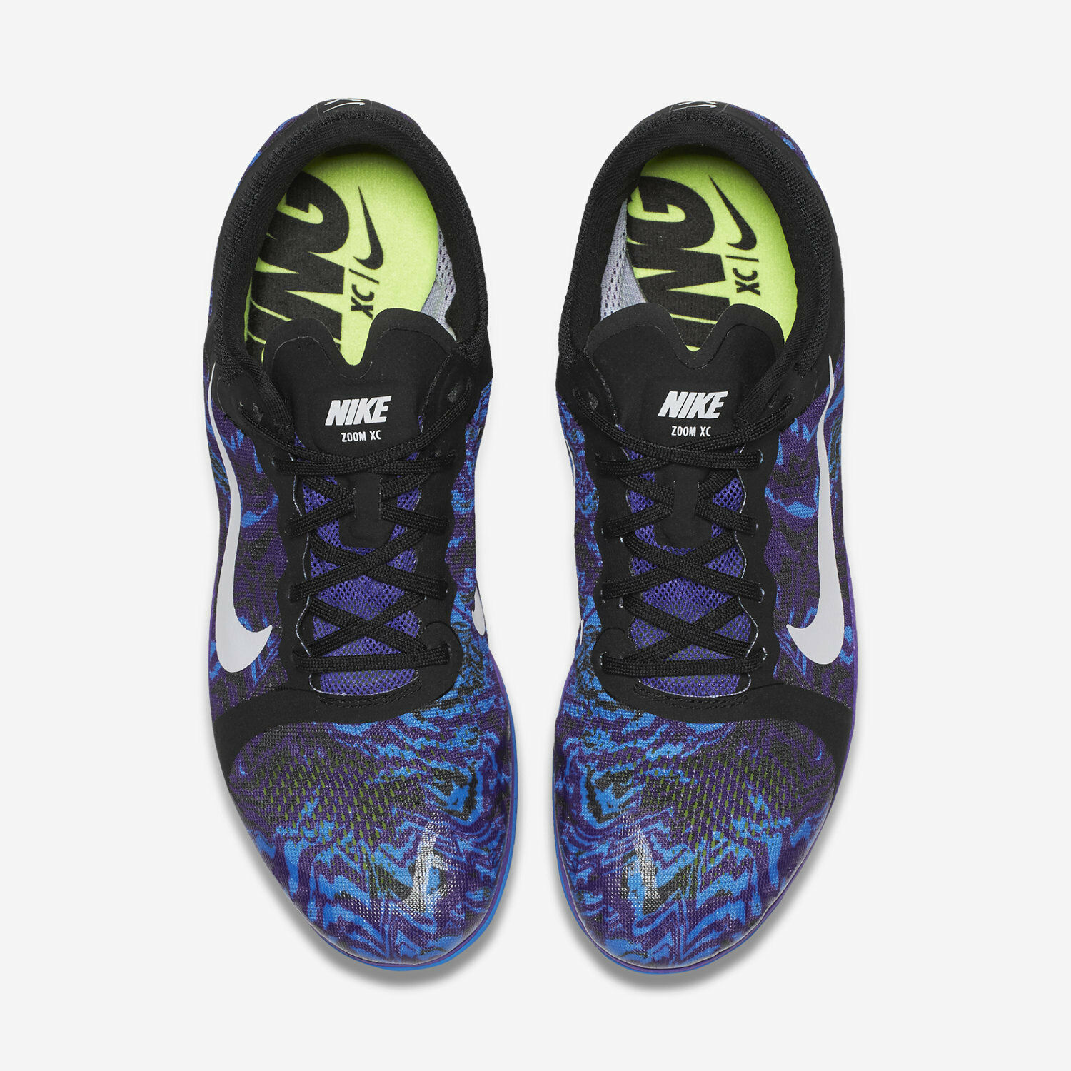 093dc2618f91 ... Nike Zoom XC Track and Field Spikes - - - Hyper Grape White Black Blue  844132 ...