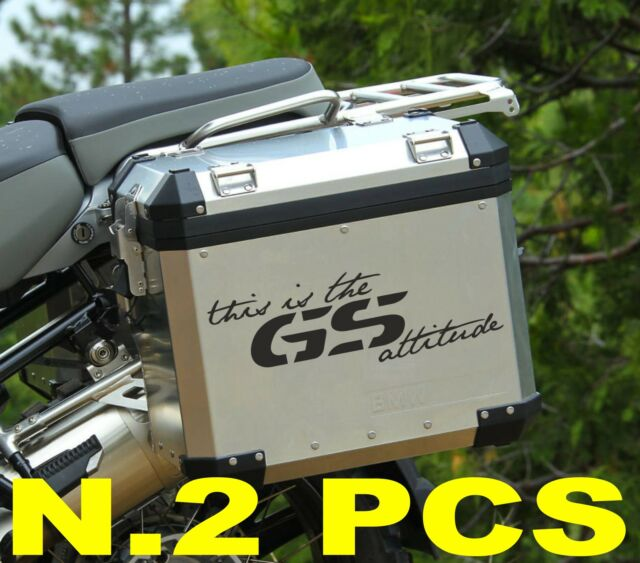 """BMW GS """"THIS THE GS ATTITUDE"""" STICKERS ADESIVI - THE1200STICKERS"""