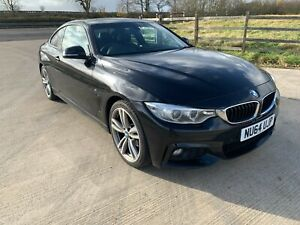 2014 BMW 420d Sport Coupe Auto FSH* Pro NAV Leather 1 owner from new Black Spec