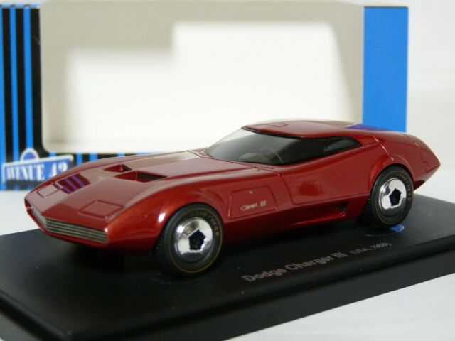 Avenue 43 60012 1/43 1968 Dodge Charger III Concept Resin Model Car