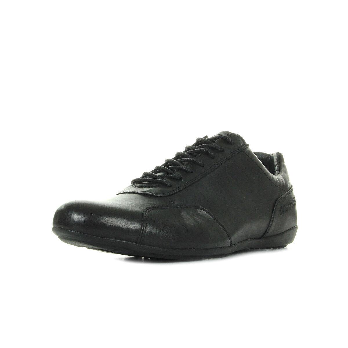 shoes Baskets Redskins homme Guiz 508 black size blacke Cuir Lacets