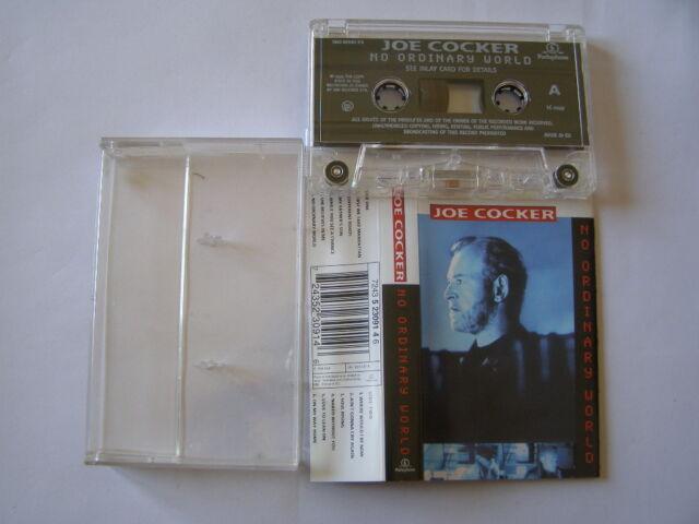 K7 Cassette Kassette Audio Tape Joe Cocker No Gewöhnliche World