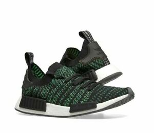 NEW IN THE BOX ADIDAS NMD/_R1 STLT PK AQ0936 NOBLE GREEN SNEAKER FOR MEN