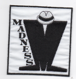 Music for Life Patch Embroidered Iron or Sew On SKA