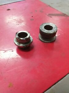 1988 88 KAWASAKI ZX750 ZX 750 NINJA 750 rear axle spacers