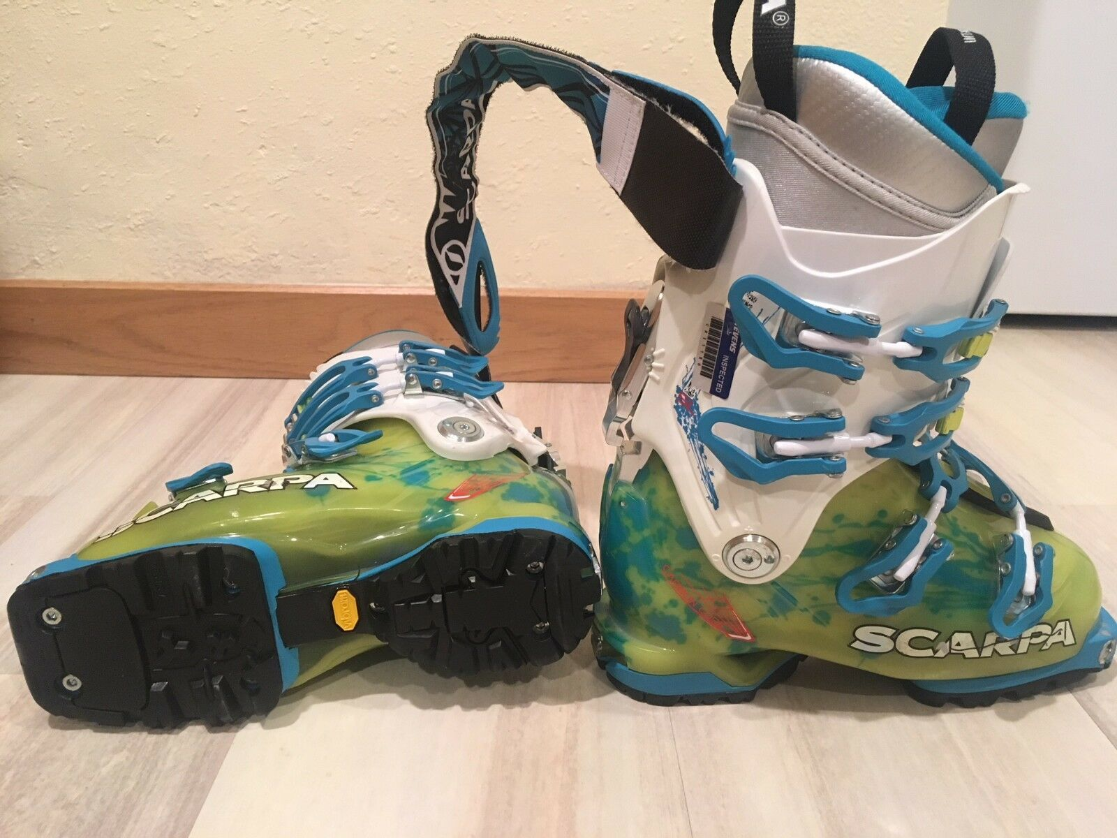 Women's Scarpa Freedom SL 120 AT Ski  Touring Boots SIZE 23 (US W's 6 7)  wholesape cheap