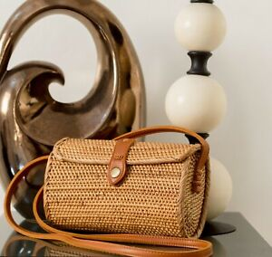 RATTAN BAG, PURSE STYLE & CROSSBODY BAG HANDWOVEN FROM BALI🍃