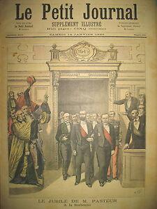 SORBONNE-MEDECINE-JUBILe-DE-PASTEUR-PORTRAIT-DE-CUIRASSIER-LE-PETIT-JOURNAL-1893