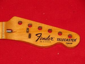 Fender-1979-Maple-Telecaster-Thinline-Neck