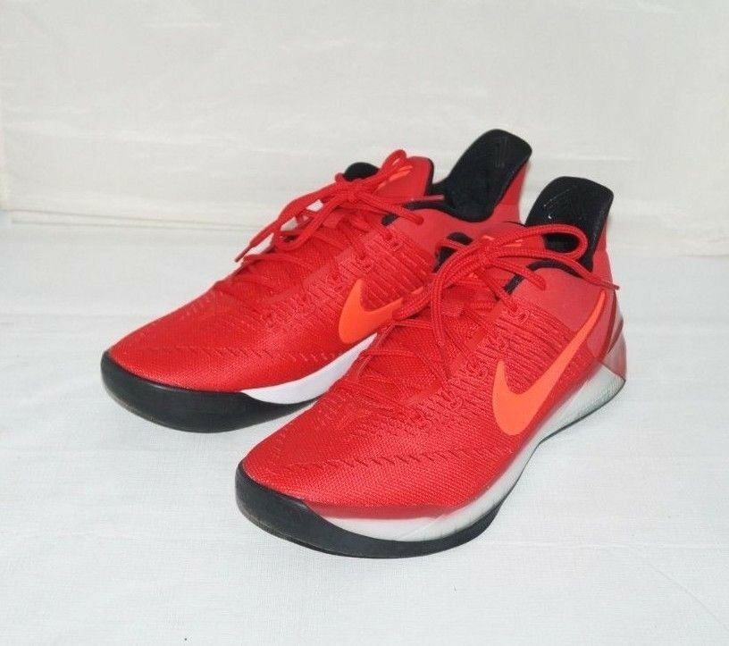 NWOB Authentic NIKE KOBE A.D. Red Men's Basketball shoes Size 11 M
