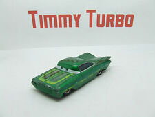CARS RAMONE CHEVROLET IMPALA METALLIC GREEN LOW N SLOW DISNEY PIXAR
