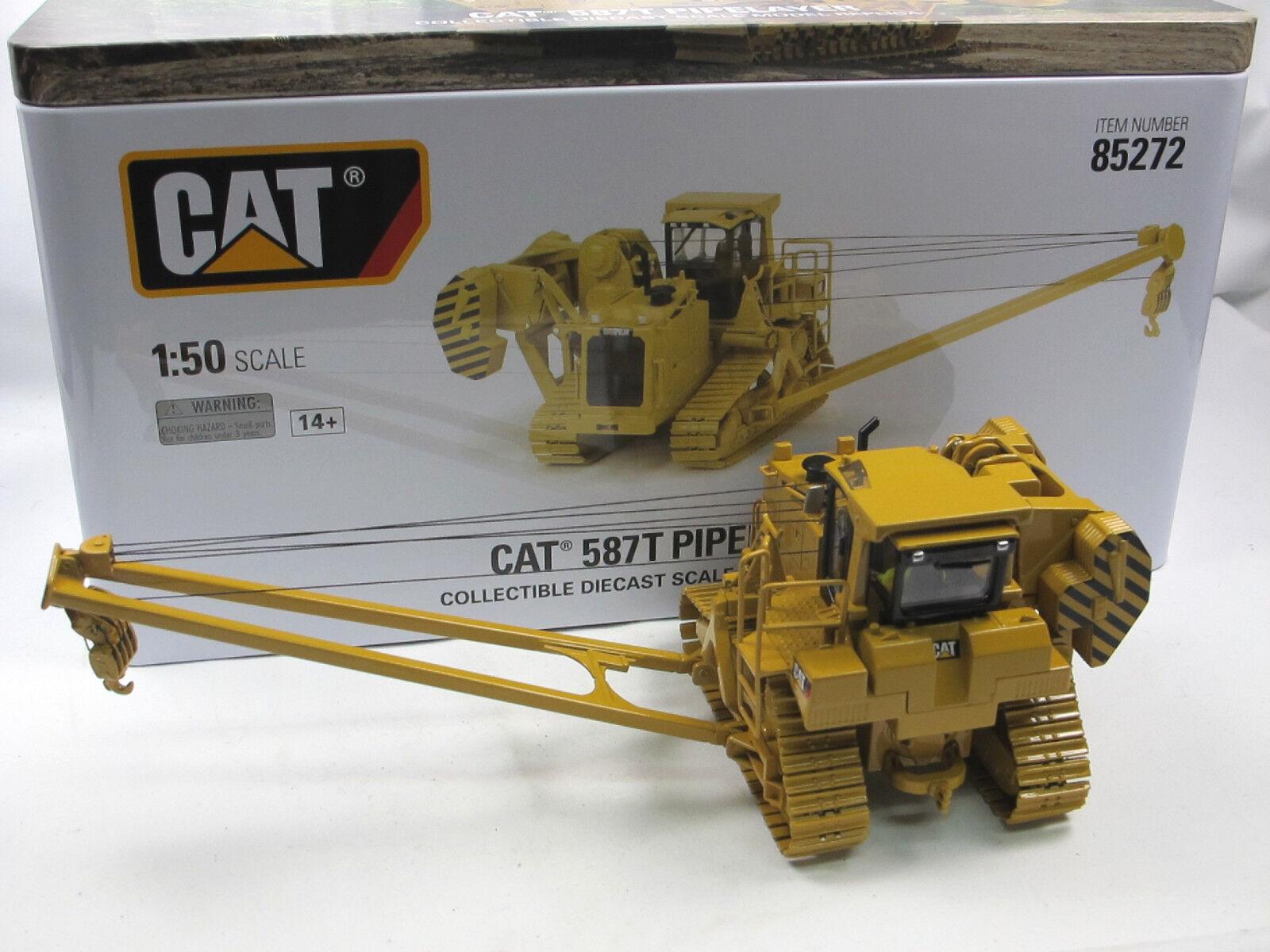 Diecast Masters 85272 CAT 587T Rohrleger Pipelayer Rohrverleger 1 50 neu OVP