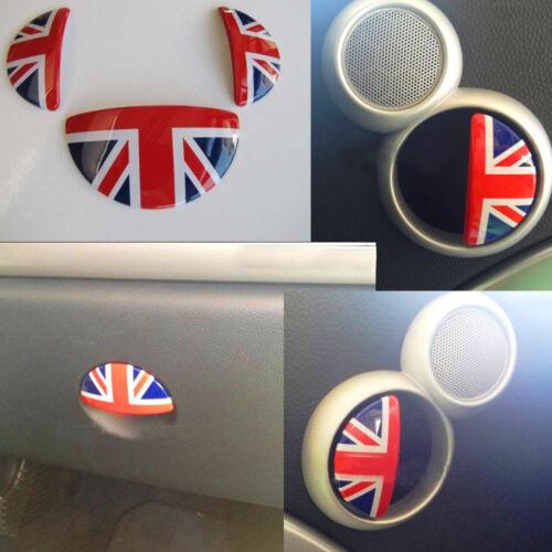 Glove Box & Door Handles Interior Union Jack for Mini One Cooper ...