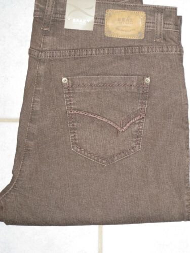 BRAX Jeans Stretchjeans Carola Glamour  Winter graubraun Neu