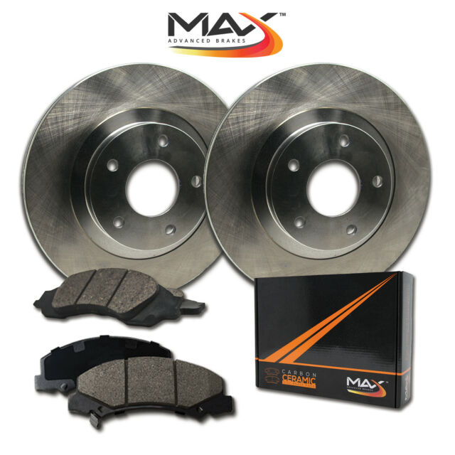 [Front] Rotors W/Ceramic Pads OE Brakes (Acura CL TL TSX
