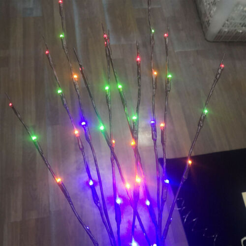 20 LED Willow Tree Branch Light Fairy String Lamp Home Party Romantic Decor