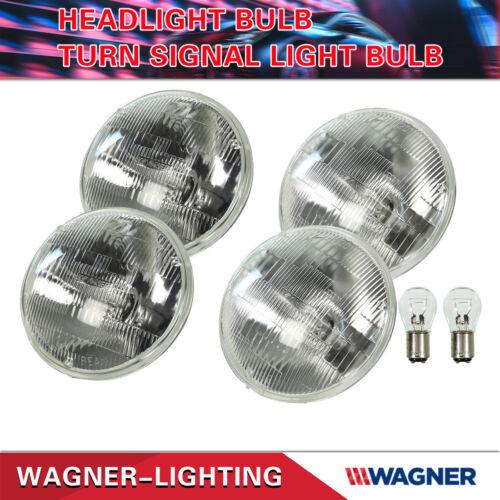 3Pair Wagner H//L Beam Headlight Bulb/&Turn Signal Halogen SBMini Lamp For CENTURY