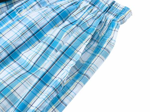 Men/'s Cotton Long Sleepwear salons pyjama avec poche confortable Bouton Fly Pantalon