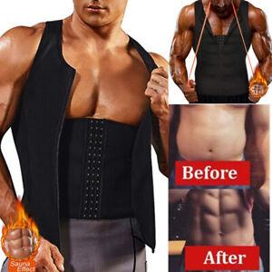 Fajas Para Hombres Faja Reductora De Shaper Reductoras Adelgazar Bajar Peso Vest