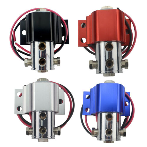 Universal Front Brake Line Lock Heavy Hill Holder Roll Control Solenoid Kit Red