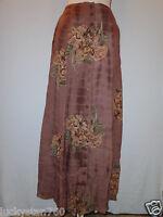 India Salmon Peasant, Boho Skirts Size Small