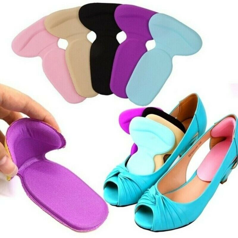 1Pair High Heel Protector Cushion Protector Foot Care Shoes Insole Pad Silicone