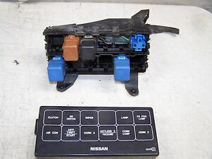 1996 nissan maxima fuse and relay wiper air con horn ebay. Black Bedroom Furniture Sets. Home Design Ideas