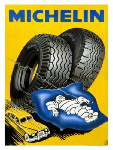 Retro Style Michelin Advertising Sign  door sign Wall Hanger Sign