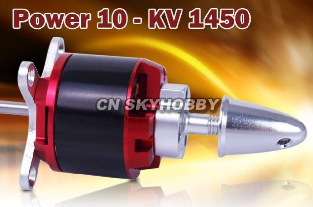 Power 10 C3542 C KV1450 520Watt Brushleess Motor