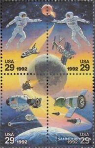 EEUU 2235-2238 bloque de cuatro (completa edición) nuevo con goma original 1992