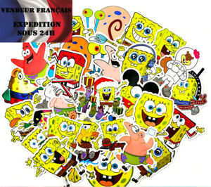 Lot-autocollants-stickers-BOB-L-039-EPONGE