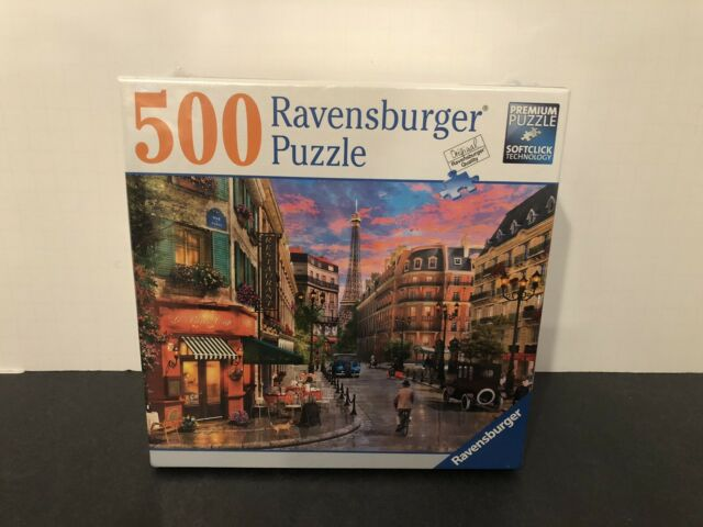 Parisian Sunset 500 Piece Puzzle by Ravensburger NEW & Sealed