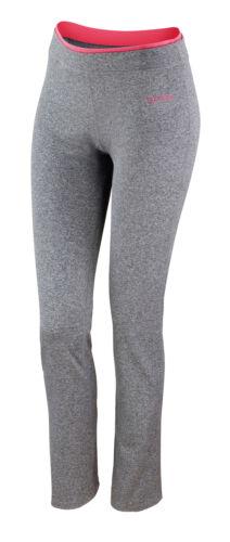 Comfort Casual Wear Spiro S275F Womens Fitness Trousers Pants Body Fit Leggings
