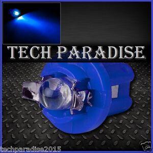 2x Ampoule B8.5D BX8.5D BAX10D ( T5 sur culot ) LED Bulb Bleu Blue Neo Wedge