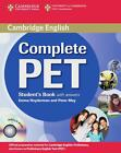 Complete PET. Student's Book with answers and CD-ROM (2010, Kunststoffeinband)