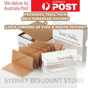 FROWNIES-Wrinkle-Remover-Facial-Patches-8-12-20-pcs-Patches-NEW