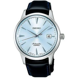 SEIKO-SARB065-Cocktail-Time-Mechanical-Automatic-Dress-Men-039-s-Watch-1-YR-Warranty