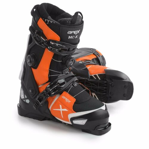 Apex MCX 26 BlackwhiteOrange Mens All Mountain Ski Boots 2017 BRAND NEW