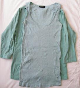 Top-Shop-Top-Blouse-Vest-Long-Sleeve-Women-Ladies-Size-UK-8-10-Bundle-3-Items