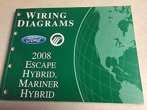 2008 Escape Mariner HYBRID    Ford    Wiring    Diagram    Dealers