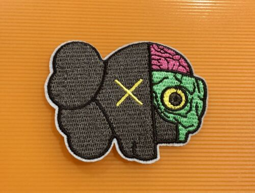 Kaws Patch Dissected Companion Patches Embroidered Sew Iron On Decorative