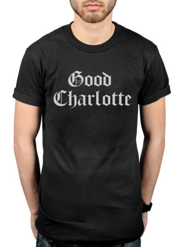 Official Good Charlotte White Puff Logo T-Shirt The Young and the Hopeless