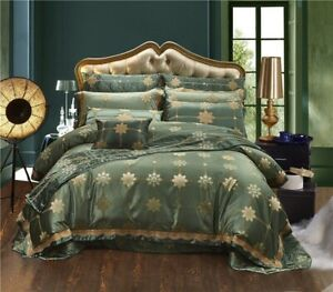 Silk-Cotton-Luxury-Satin-Jacquard-Bedding-Set-Chinese-Bedding-Sets-Bed-Sheet-Set