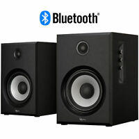 Rosewill BZ-201 2.0 Channel Bluetooth Speaker System (Black)