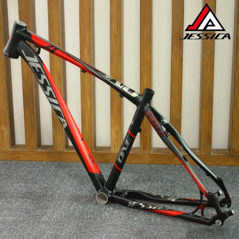JESSICA Bicicleta de montaña cuadro bici aluminio ciclismo 44-56mm para frente de horquilla Cónico Marco BB92