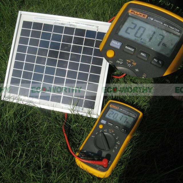 ECO  5Watt 12Volt  Solar Panel 5W Solar Module For Home Use  Battery Charger
