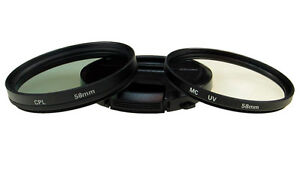 Multicoated Multithreaded Glass Filter Circular Polarizer for Canon VIXIA HF M40 C-PL 43mm