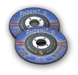 5x-Heavy-Duty-Cutting-Discs-Quality-Blade-100-x-3-x-16-4-034-Metal-Grinding-Disc