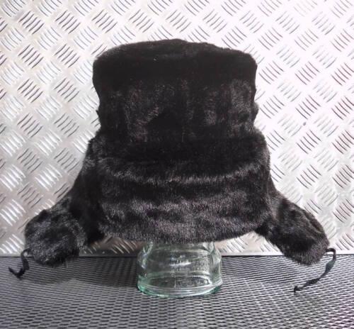 Size 59cm Genuine Russian NEW USSR Black Police Cossack Hat Soviet