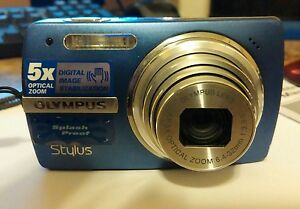 olympus stylus 820 8 0mp digital camera 5x optical splash proof ebay rh ebay com Olympus Stylus Digital Camera Olympus Stylus 1 Digital Camera